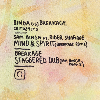 Cover art - Sam Binga & Breakage: Binga vs Breakage