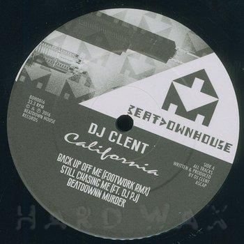 Cover art - DJ Clent: California