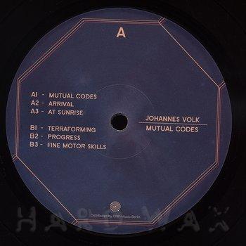 Cover art - Johannes Volk: Mutual Codes