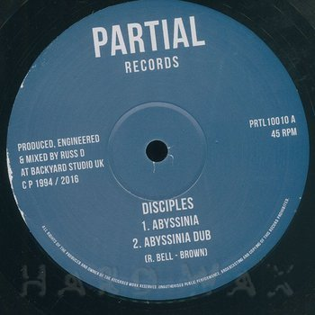Cover art - Disciples: Abyssinia