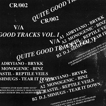 Cover art - Various Artists: Quite Good Tracks Vol. 1