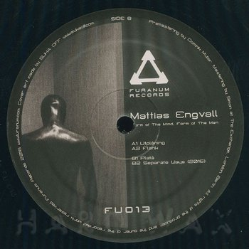 Cover art - Mattias Engvall: Form Of The Mind, Form Of The Man