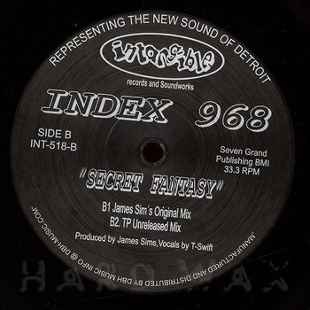 Cover art - Index 968: Secret Fantasy