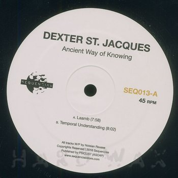 Cover art - Dexter St. Jacques: Ancient Way Of Knowing