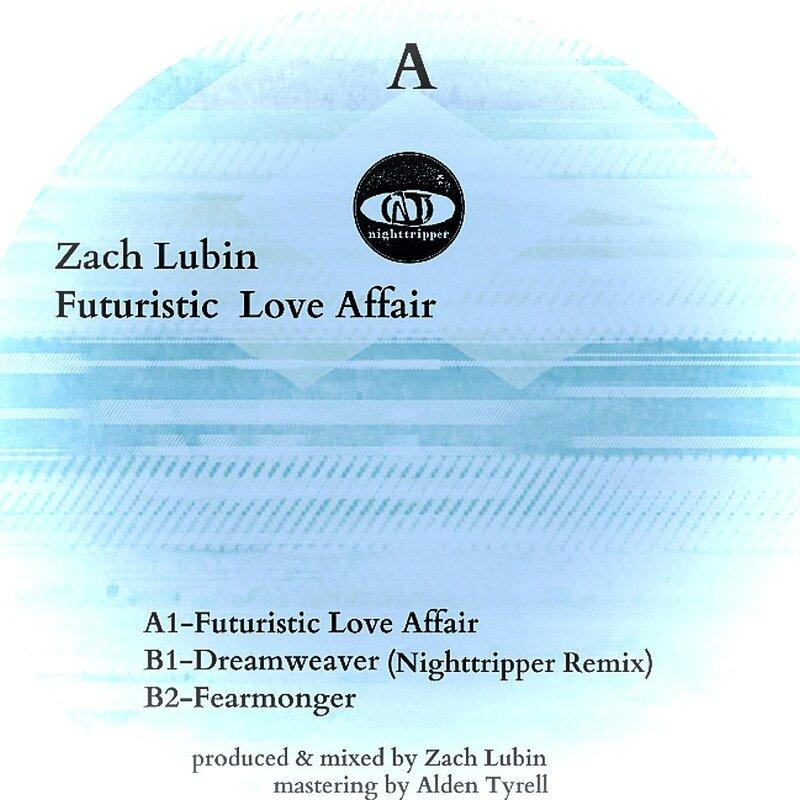 Cover art - Zach Lubin: Futuristic Love Affair