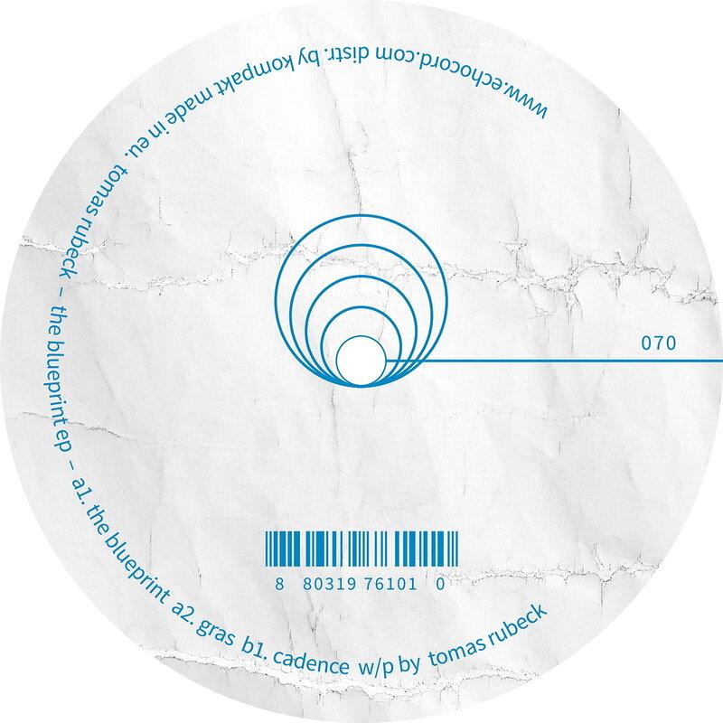 Cover art - Tomas Rubeck: The Blueprint EP