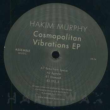 Cover art - Hakim Murphy: Cosmopolitan Vibrations EP