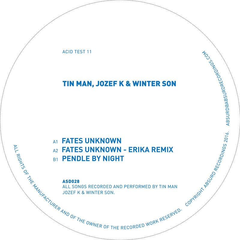 Cover art - Tin Man, Jozef K & Winter Son: Fates Unknown