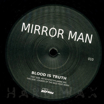 Cover art - Mirror Man: Blood Is Truth