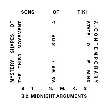 Cover art - Sons Of Tiki: Mystery Shapes Of The Third Movement