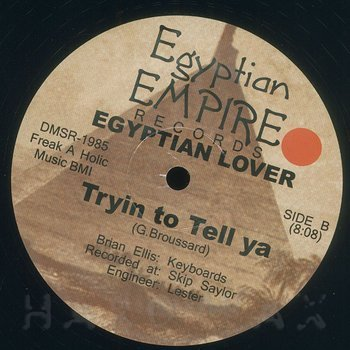 Cover art - Egyptian Lover: Killin' It Remix