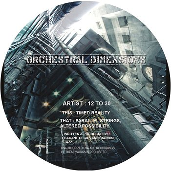 Cover art - 12 To 30: Orchstral Dimensions