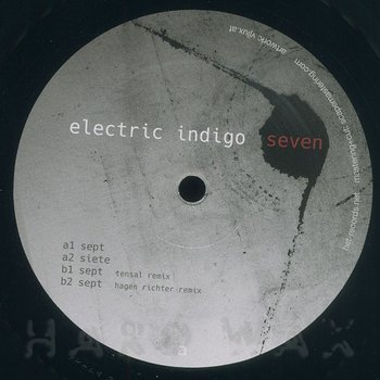Cover art - Electric Indigo: Seven