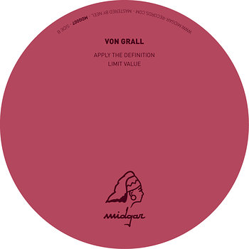 Cover art - Von Grall: A Secant Line EP