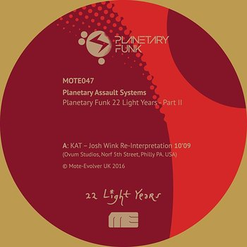Cover art - Planetary Assault Systems: Planetary Funk 22 Light Years - Part 2