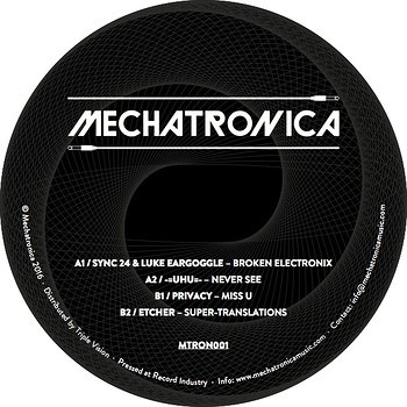 Cover art - Various Artists: Mechatronica 1