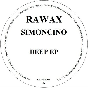 Cover art - Simoncino: Deep