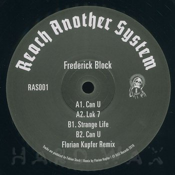 Cover art - Frederick Block: Can U