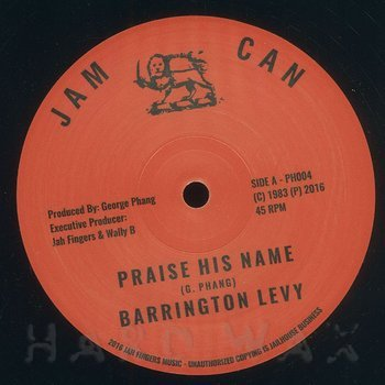 Cover art - Barrington Levy: Praise His Name