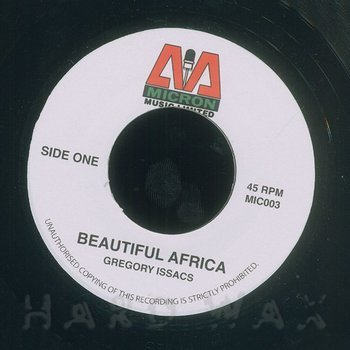 Cover art - Gregory Isaacs: Beautiful Africa