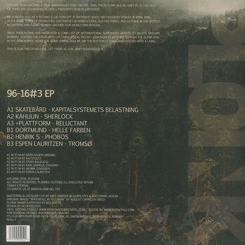 Cover art - Various Artists: 96-16#3 EP