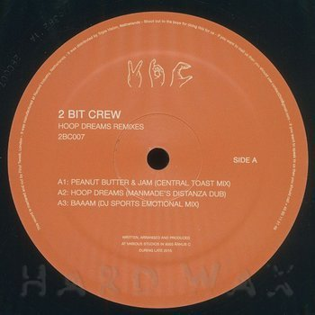 Cover art - 2 Bit Crew: Hoop Dream Remixes