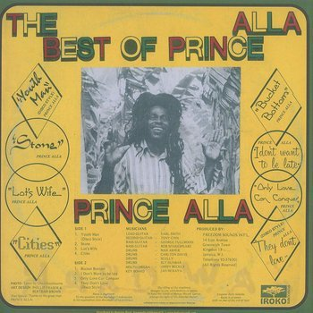 Cover art - Prince Allah: The Best Of