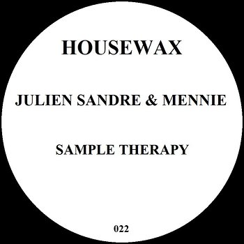 Cover art - Julien Sandre & Mennie: Sample Therapy