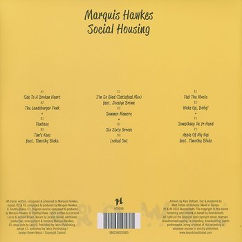 Cover art - Marquis Hawkes: Social Housing