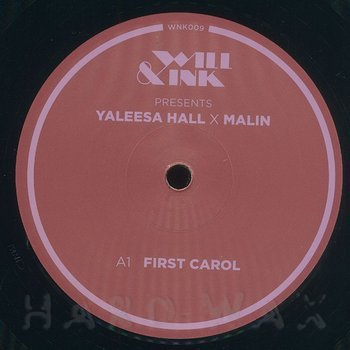 Cover art - Yaleesa Hall x Malin: Carol