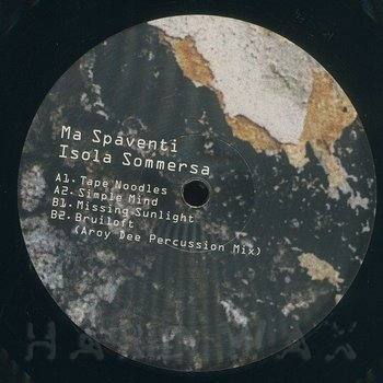 Cover art - Ma Spaventi: Isola Sommersa