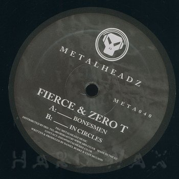 Cover art - Fierce & Zero T: Bonesmen