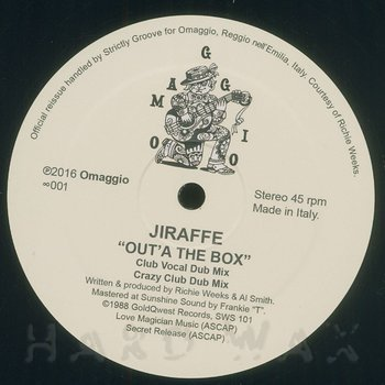 Cover art - Jiraffe: Out'A The Box