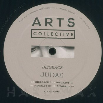 Cover art - Judas: Disgrace