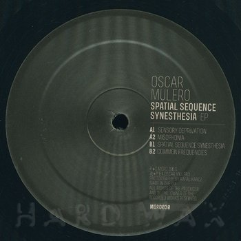 Cover art - Oscar Mulero: Spatial Sequence Synesthesia