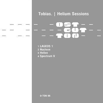 Cover art - Tobias: Helium Sessions