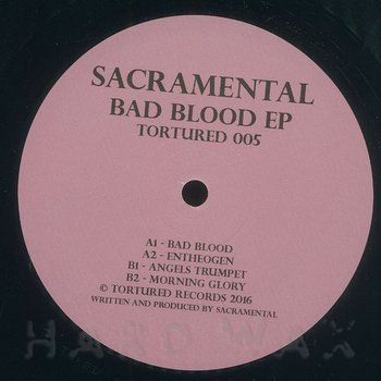 Cover art - Sacramental: Bad Blood EP