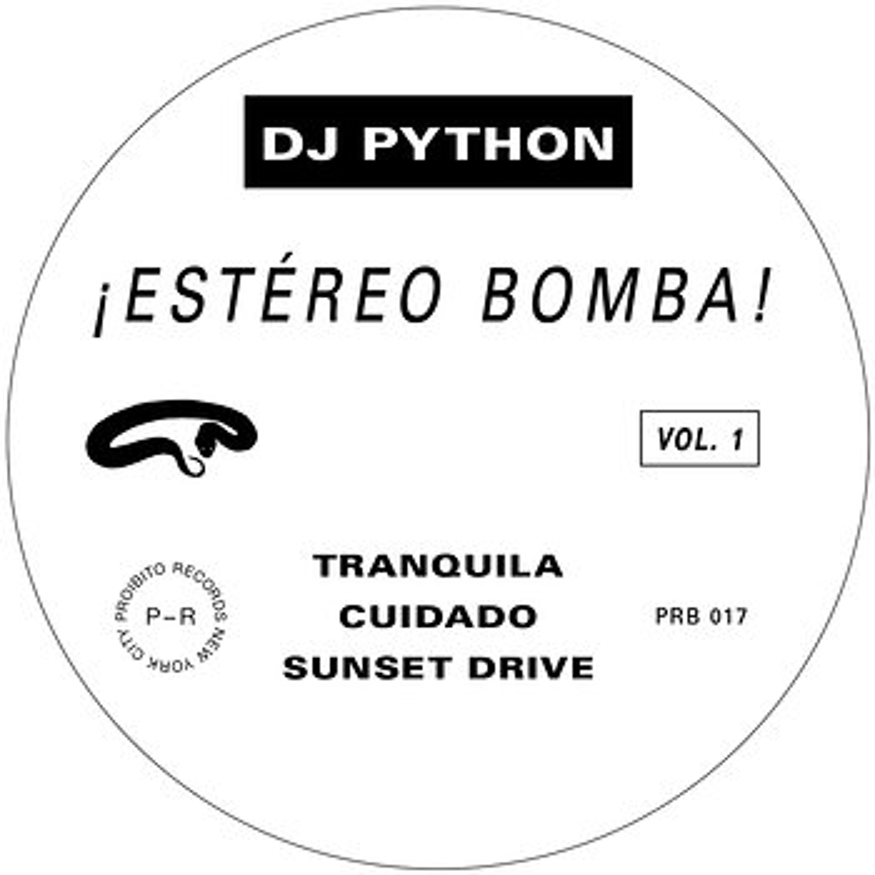 Cover art - DJ Python: ¡Estéreo Bomba!