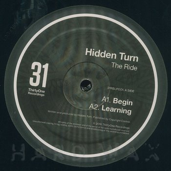 Cover art - Hidden Turn: The Ride