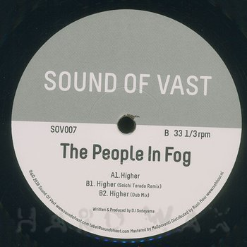 Cover art - The People In Fog: Higher EP