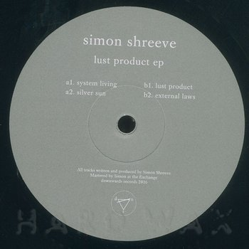 Cover art - Simon Shreeve: Lust Product