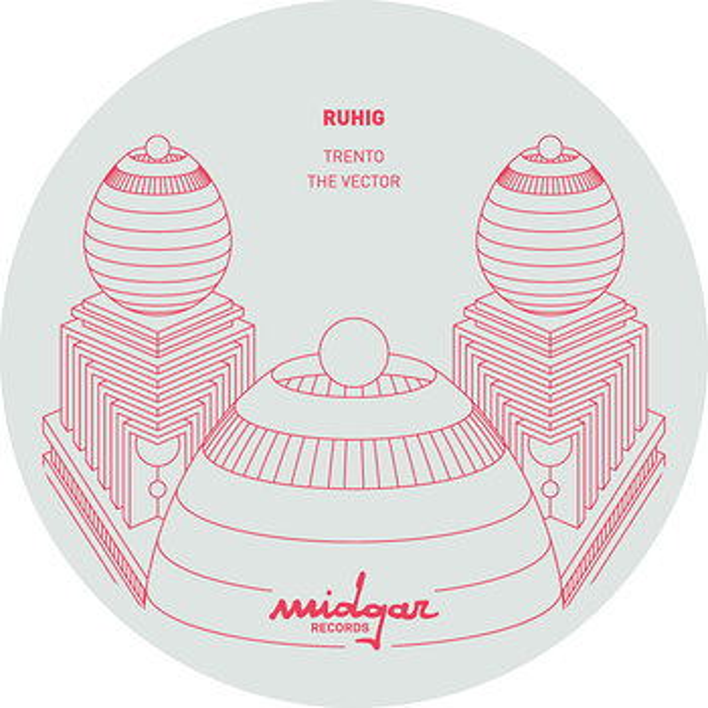 Cover art - Ruhig: Materia EP