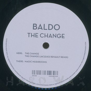 Cover art - Baldo: The Change