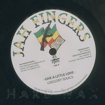Cover art - Gregory Isaacs: Give A Little Love