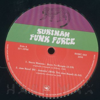 Cover art - Various Artists: Surinam Funk Force