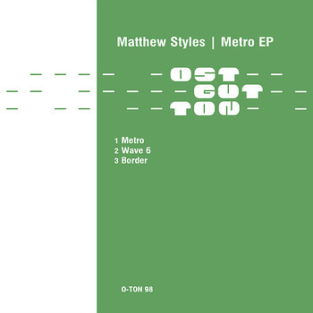 Cover art - Matthew Styles: Metro EP