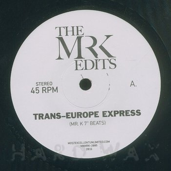 Cover art - Mr. K: Trans-Europe Express