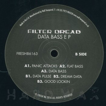 Cover art - Filter Dread: Data Bass EP