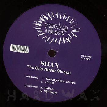 Cover art - Shan: City Never Sleeps