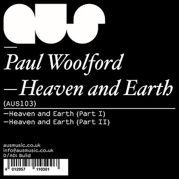 Cover art - Paul Woolford: Heaven & Earth